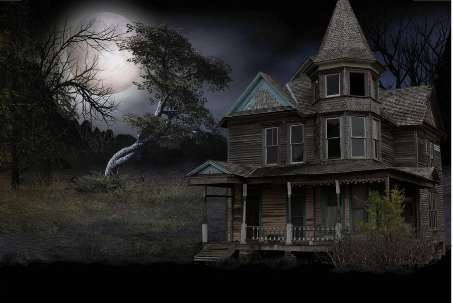 Old Victorian House by mysticmorning on DeviantArt