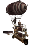 SteamPunk Scooter png