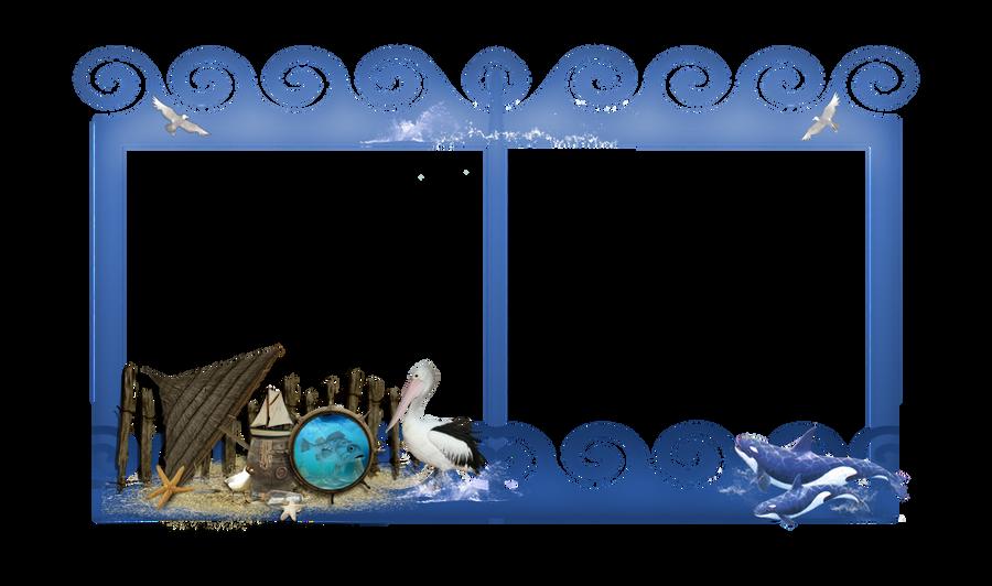 Ocean Frame png by mysticmorning on DeviantArt