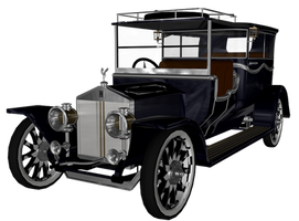 1911 Rolls Royce png by mysticmorning