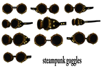 Steampunk Goggles png