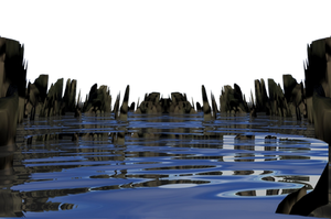 Water Hole png by mysticmorning