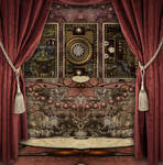 Steampunk Gothic Background