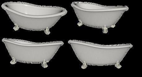 Bathtub Set png by mysticmorning