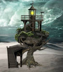 Surreal Fantasy Background by mysticmorning