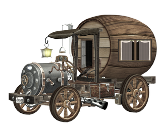 Home on Wheels png by mysticmorning