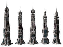 Sci-Fi Towers png