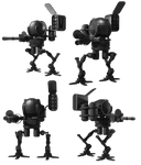 Robot Fighter png 3