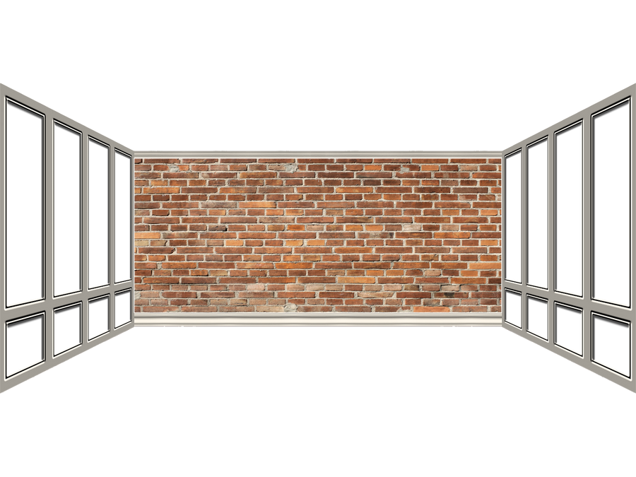 Brick Wall and Windows png by mysticmorning on DeviantArt