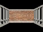 Brick Wall and Windows png