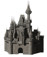 Castle png 3 by mysticmorning