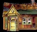 Fantasy Surreal House png