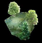 Landscape Cube png