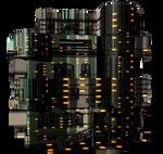 Sci-Fi Modern Building