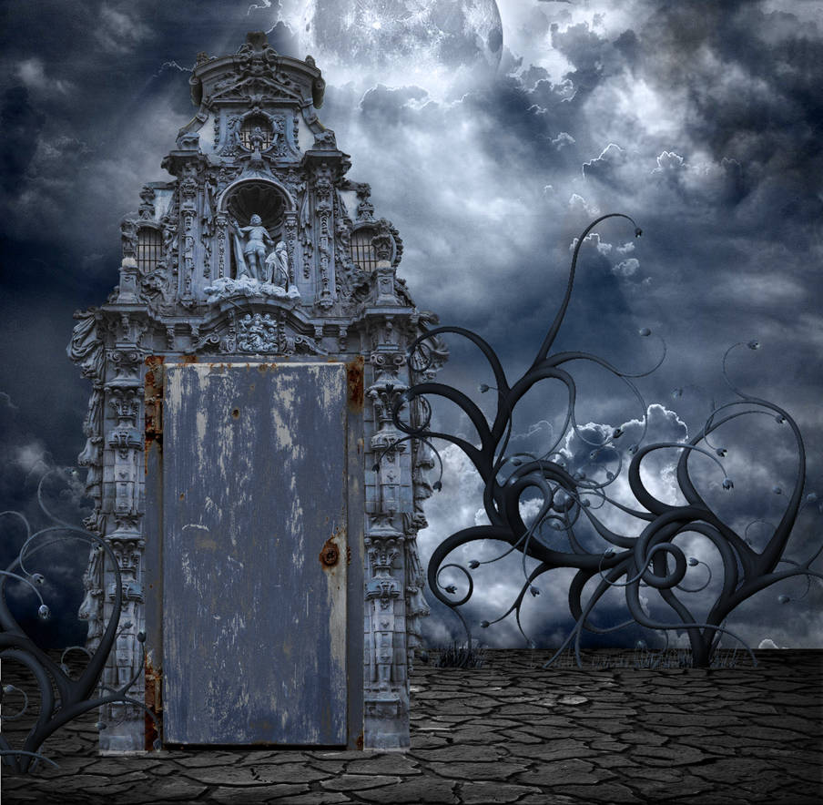 CREEPY BACKGROUND by mysticmorning