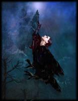 Crow Spirit by mysticmorning