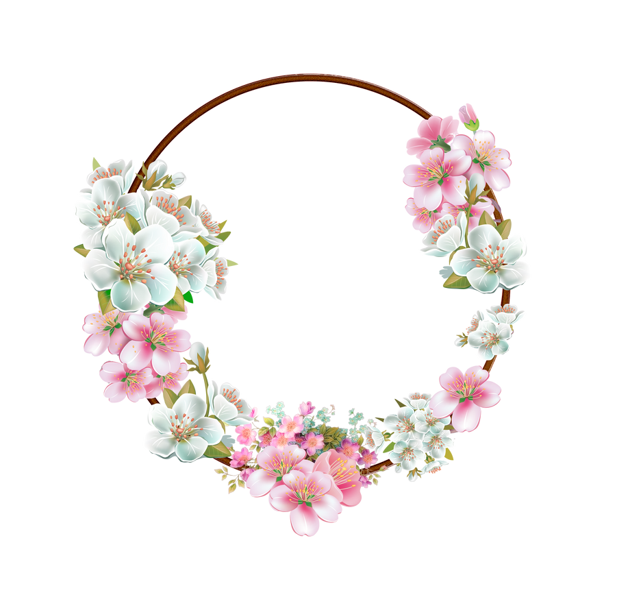 of floral frames - photo #2