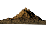 Bryce Rendered Mountain