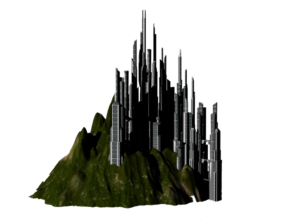 City Sci fi png