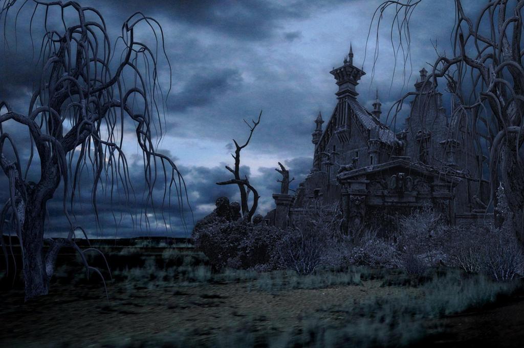 A Dark Evil Background