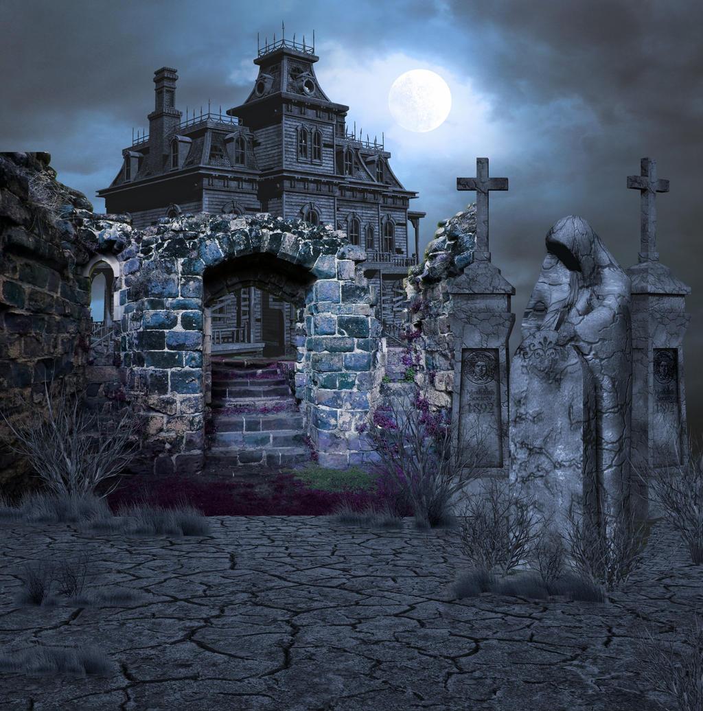 Dark Evil Graveyard