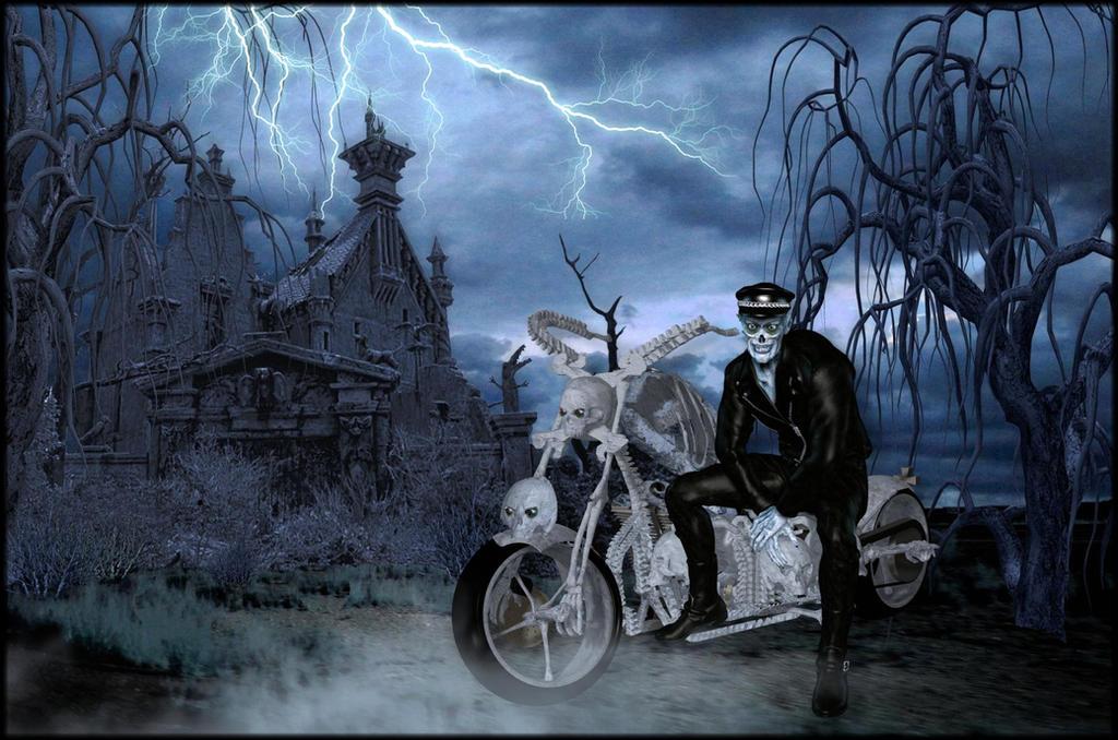 Dark Of The Night by mysticmorning