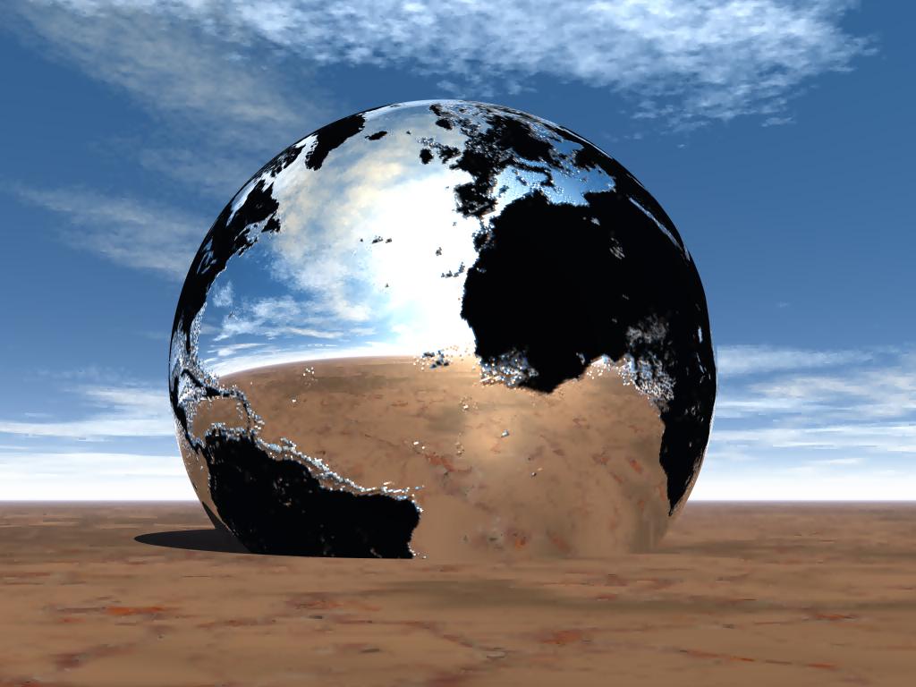Broken Planet by mysticmorning