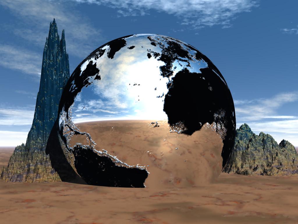 Broken Earth by mysticmorning
