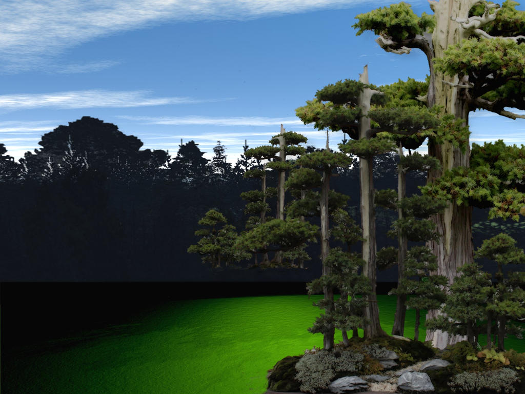 Bryce Backg Forest 3 by mysticmorning
