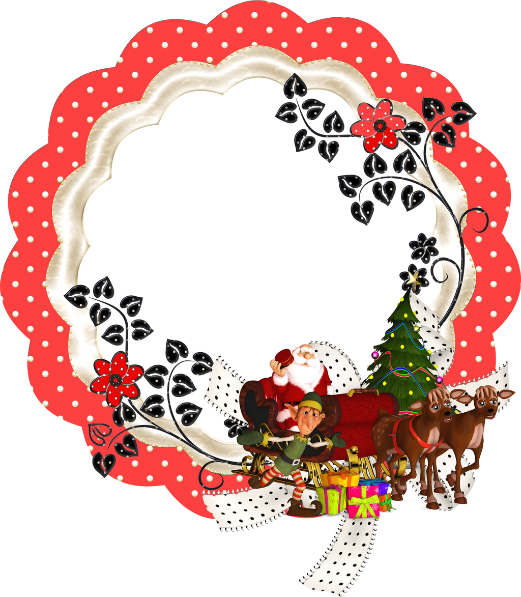 Merry Christmas Frame by mysticmorning on DeviantArt