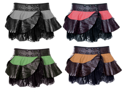 PaperDoll Skirts by mysticmorning
