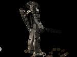 Bronze Robot 3