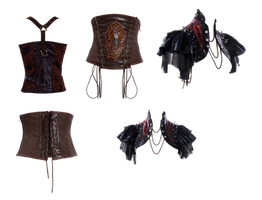 PaperDoll clothes by mysticmorning