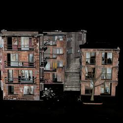Abandan Building Textured