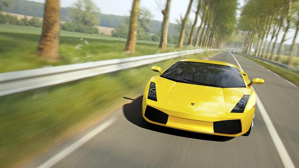 Lamborghini Gallardo 2006 created by Senluc by Senluc