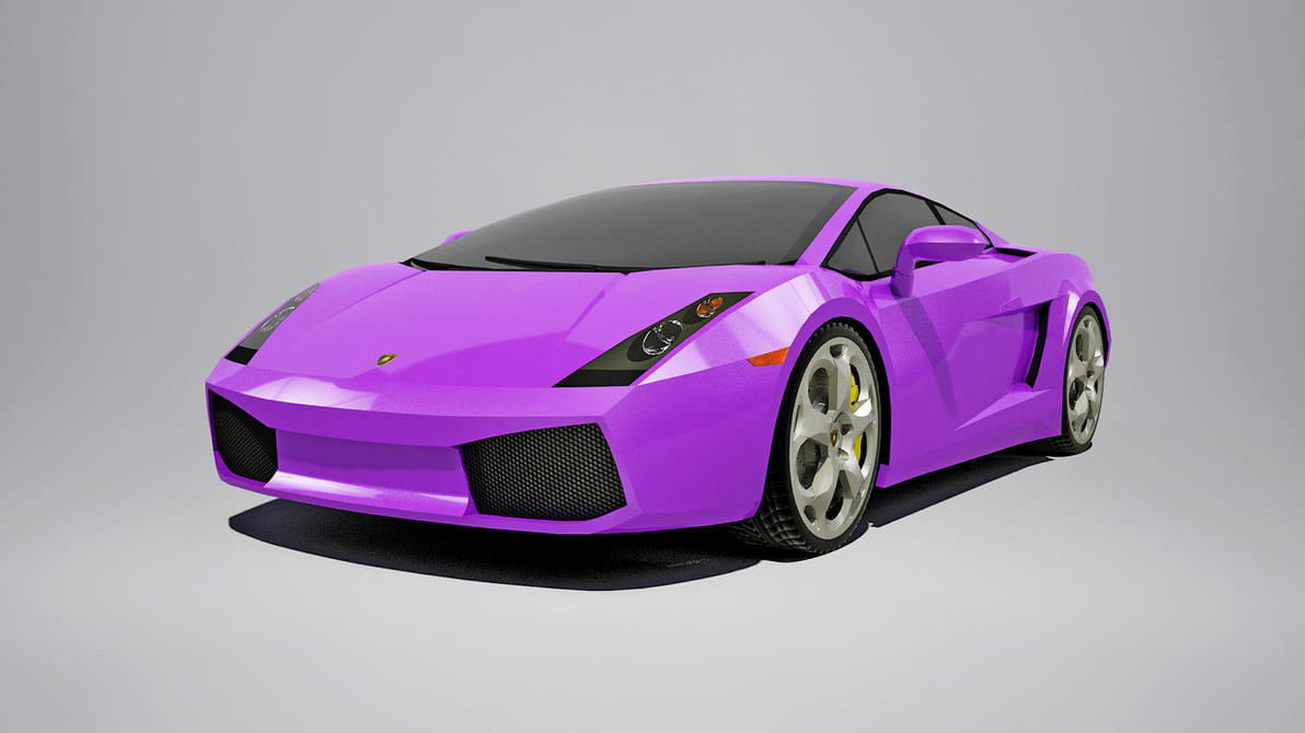 Lamborghini Gallardo Purple created by Senluc by Senluc