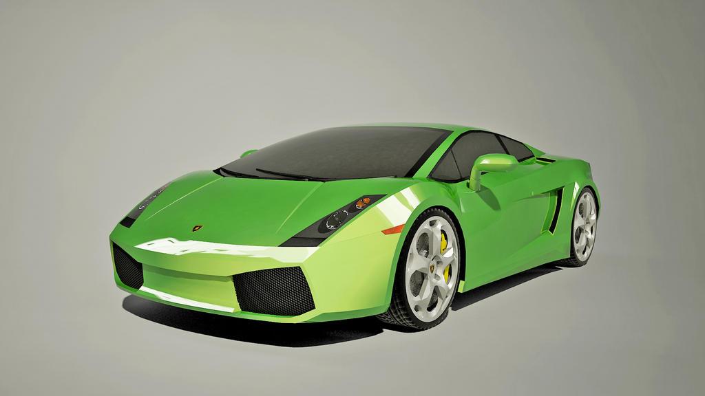 Lamborghini Gallardo Green created by Senluc by Senluc