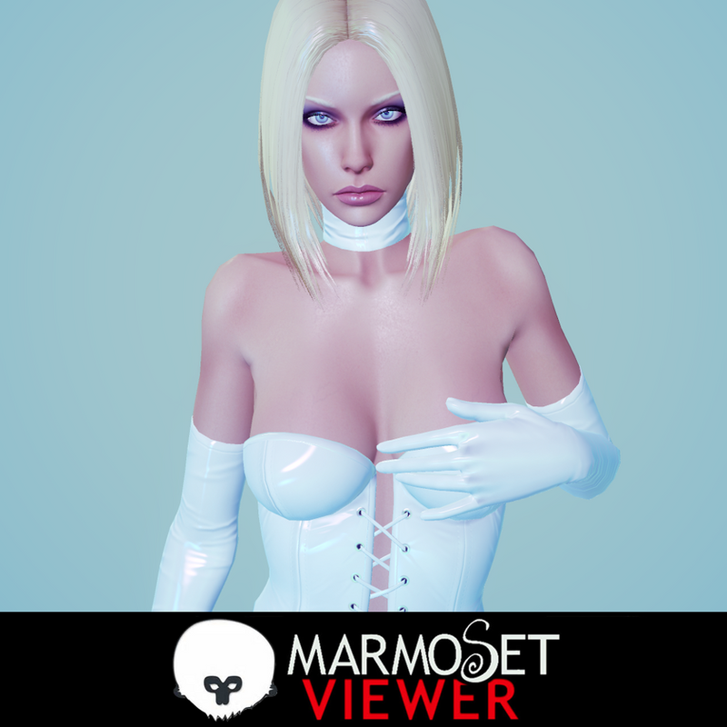 Emma Frost by Senluc