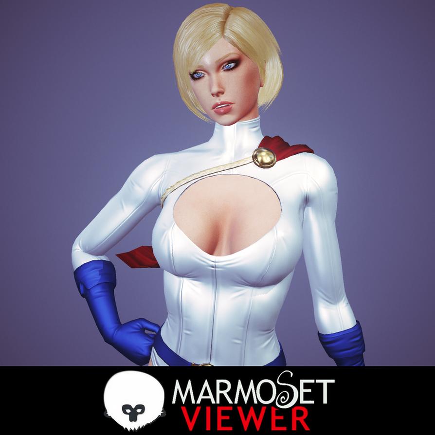 Power Girl by Senluc