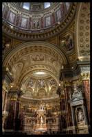 St. Stephen's basilica by nessanumen