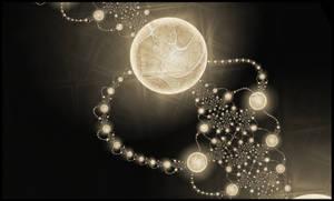 Beads of light by nessanumen
