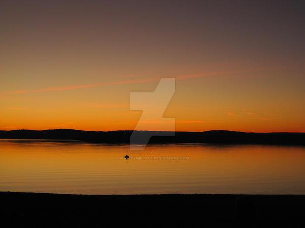 Reservoir Sunset by ashleymphoto