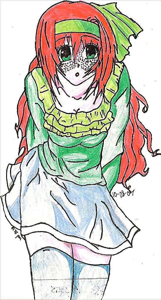 Kyla Tawny Colored by KiriaTokame