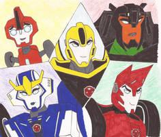 Bumblebee's Team by kiinastar