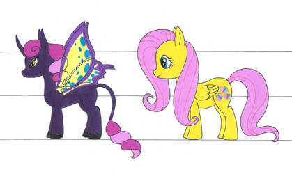 MLP Size Comparison by kiinastar