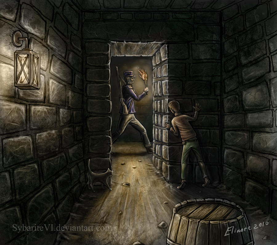 Sneaking in the dungeons by SybariteVI