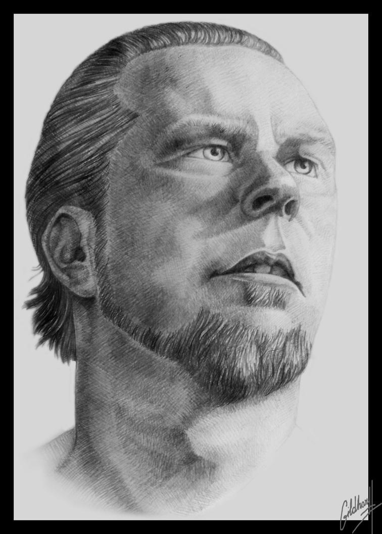 James Hetfield Portrait II by Gildhartt