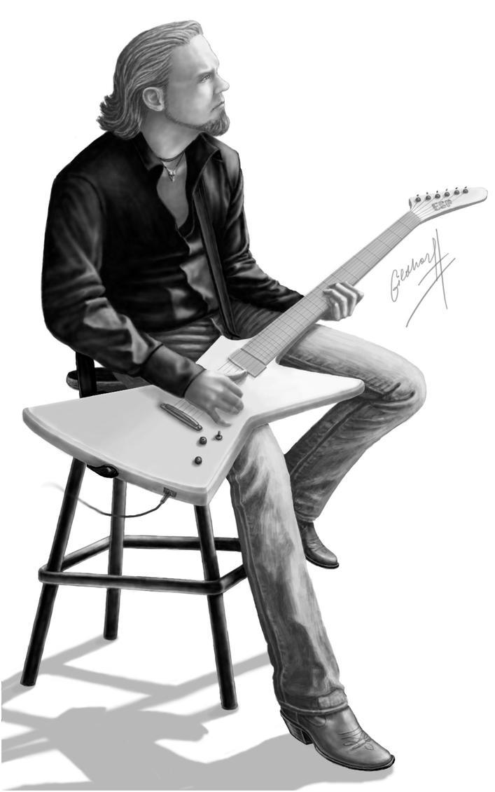 James Hetfield by Gildhartt