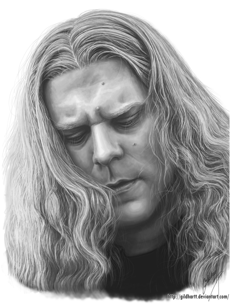 Adrian Hates Portrait by Gildhartt