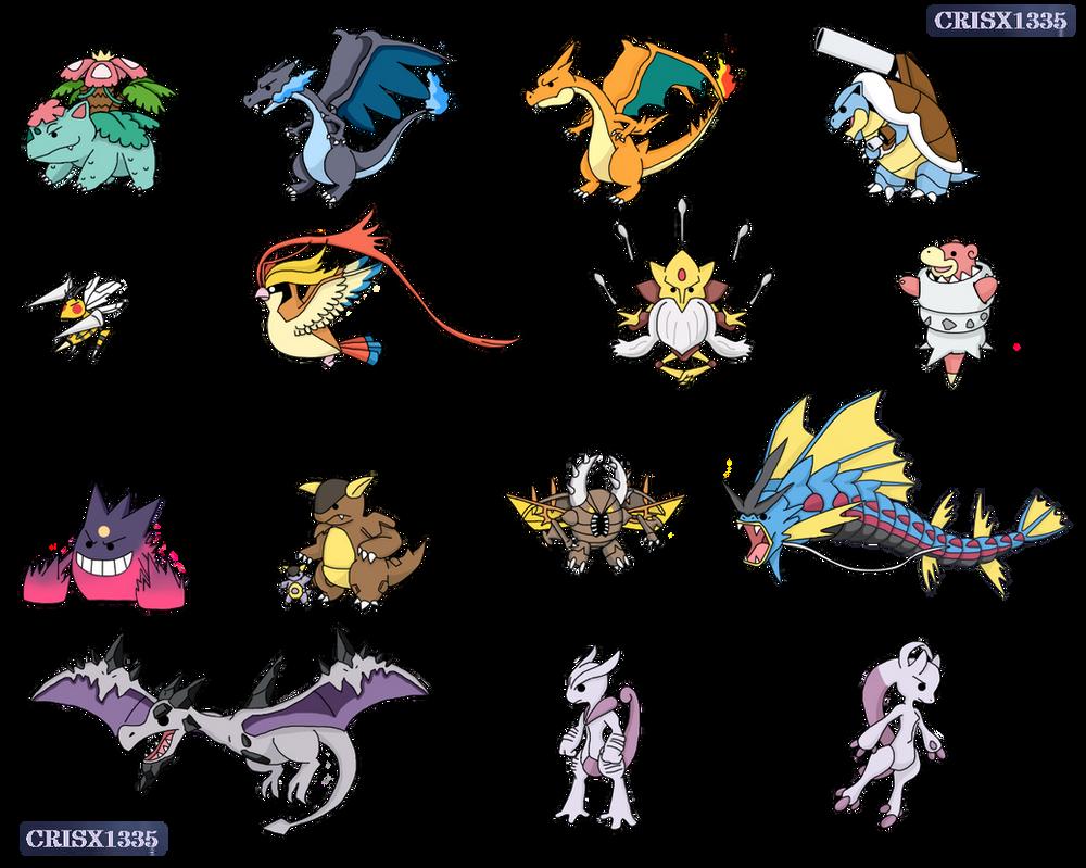 Pokemon Megaevolucion Kanto by crisx1335 on DeviantArt